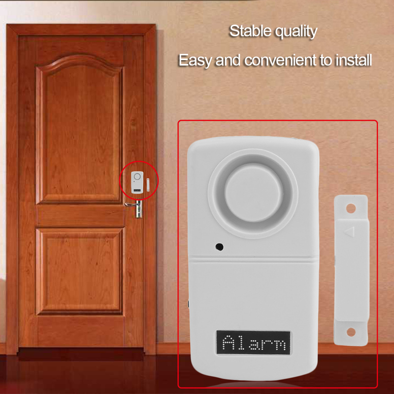 Security Alarm System for Home Outdoor Alarm Sensor Detector More Than 120dB Alarm Voice Door Magnetic Home Alarm System