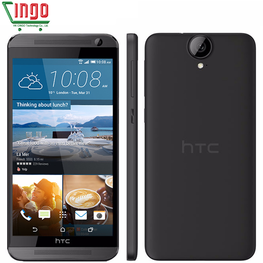 HTC One E9 & E9W 2G RAM 16G ROM smart phone Octa Core 2800mAh MTK6795 5.5 inch 13MP FHD 1920 x 1080 FDD-LTE Cellphone image