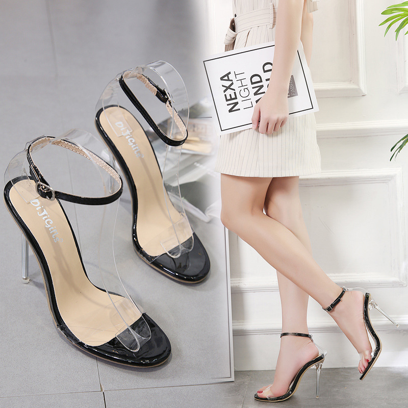 Basic Pumps Women OL Office Lady Shoes Color matching Solid color <font><b>12</b></font> <font><b>CM</b></font> Thin <font><b>High</b></font> <font><b>Heels</b></font> Woman Shoes Pointed Toe Dress shoes image