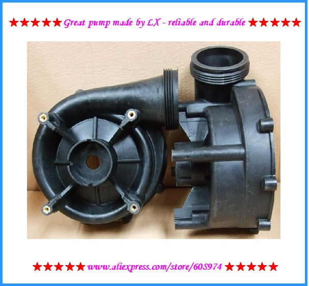 LX WP300-II Pump Wet End Body and pump cover only for spa pump part replacement Fit WP200-II LX200 LX300 lx pump ea320 ea350 pump wet end pump body