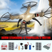 SYMA X8 X8HW WiFi FPV Real Time Transmission Rc Quadcopter with 2.0MP Camera Drone Helicopter Toys 4*CW/CCW Motor for Gifts