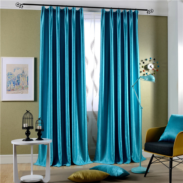 Velvet Shades Curtain Fabric New Living Room Curtains Bedroom