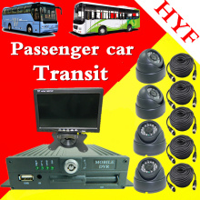 bus monitoring kit 4ch vehicle video recorder complete set of bus travel record monitoring camera factory mdvr