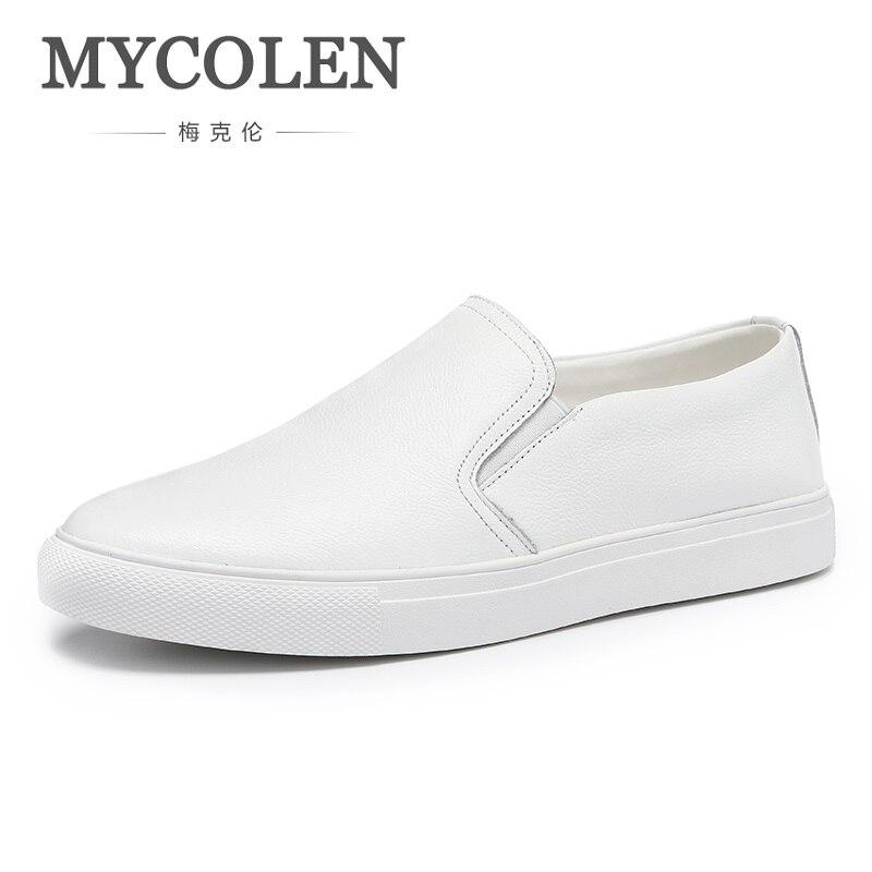 MYCOLEN Men Casual Shoes Luxury Brand Canvas Espadrilles Fashion Slip On Shoes Men Summer Classic Lazy Men's Flats Shoes все цены
