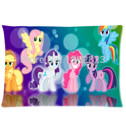 Hot Selling My Little Pony Rainbow Dash Custom Rectangle Pillow Case 20x30 (one side) Throw ...