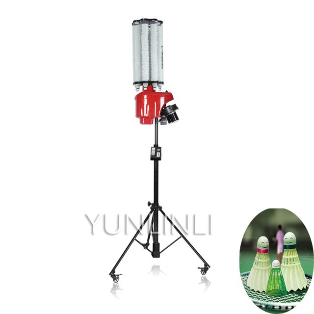 Professional Automatic Badminton Serve Apparatus Training Partner For Badminton Practice Auto Step Training Machine S4025