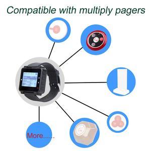 Image 2 - 5pcs Retekess T128 Waiter Call Watch Receiver 433.92MHz For Wireless Calling System Restaurant Equipment Customer Service