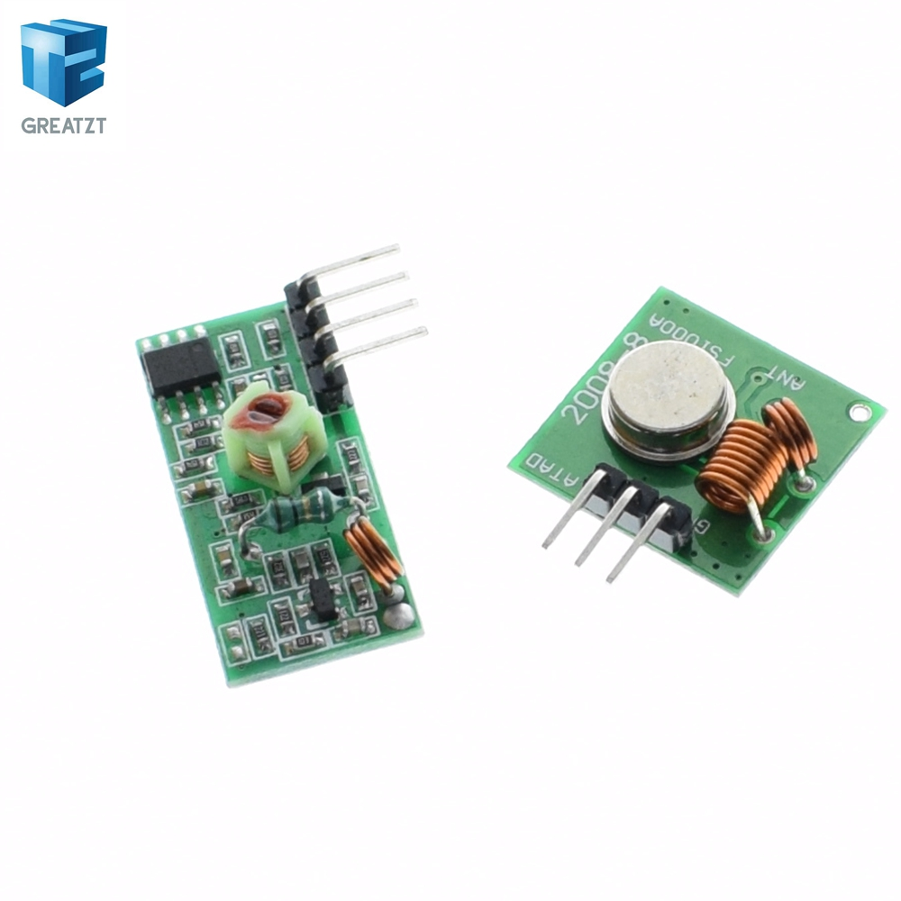 Buy 433Mhz RF Transmitter + Receiver Module Kit Arduino / ARM /MCU WL at  DealExtreme - Chinese Goods Catalog - ChinaPrices net