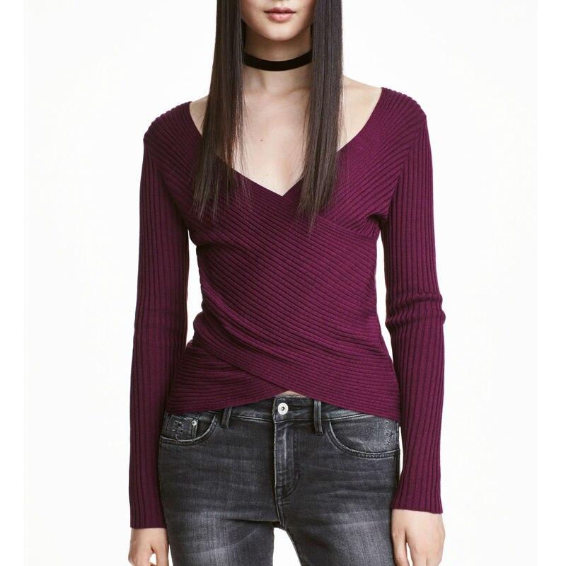 Women tops designer tshirt top 2016 black and white for V neck black t shirt women s