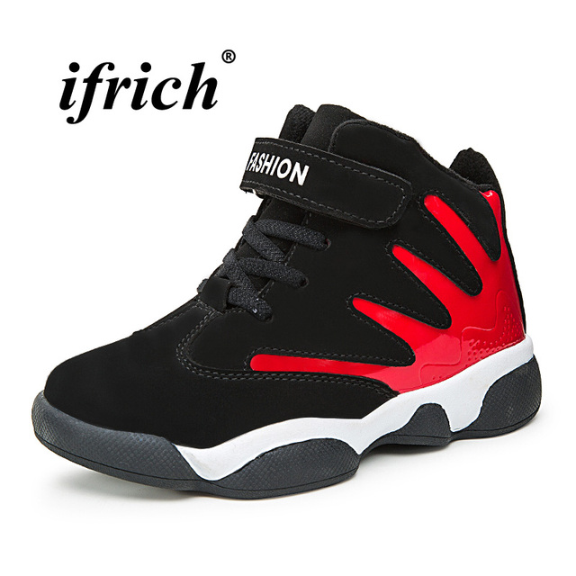 Aliexpresscom Buy New Cool Basketball Shoes For Kids Red Blue