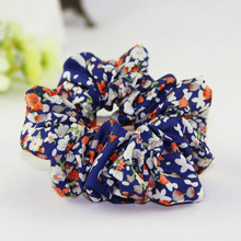 JZJR New Vintage Elastic Hair Bands for Women Scrunchies Ties Boho Accessories Ponytail Holder Flower Headband