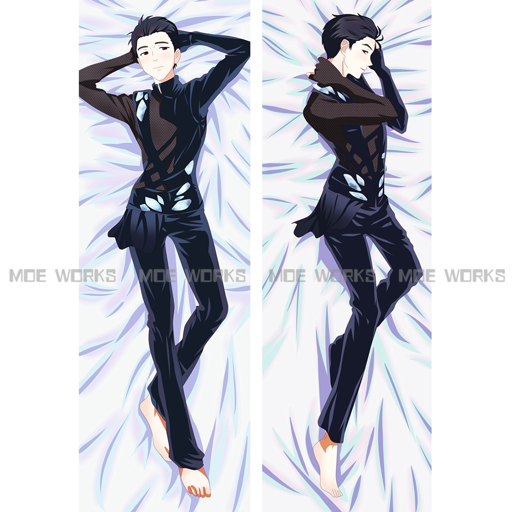 YURI!!! on ICE Victor Nikiforov Michele Yuri Katsuki Yuri Plisetsky anime dakimakura body pillow case cool male