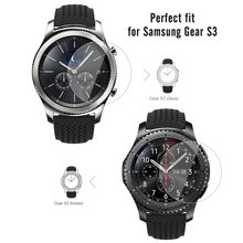 4 PACK Premium HD Clear 9H Hardness Tempered Glass Screen Protector Film For Samsung Gear S3 Frontier/S3 Classic Smart Watch(China)