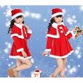 2016 New Christmas Baby Romper Boy Girl Xmas Set Children Christmas Dress Kid Santa Claus Costume Children's Christmas Suit