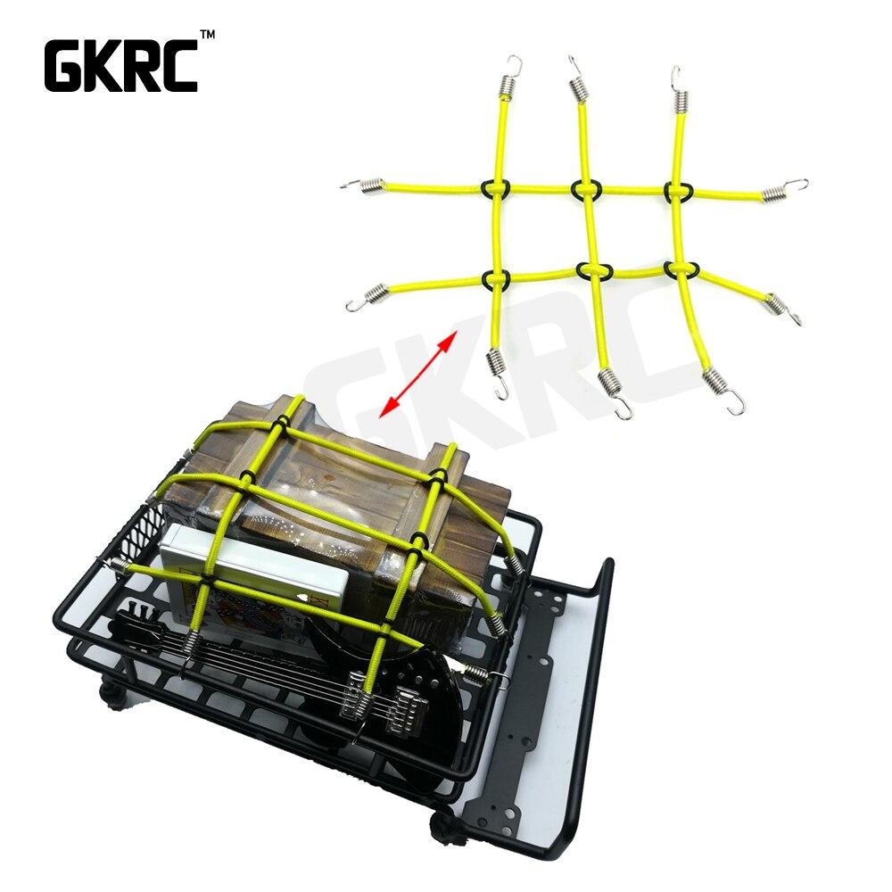 Elastic Luggage Net For Axial SCX10 Tamiya D90 D110 TRX-4 1:10 Rock Crawler Car