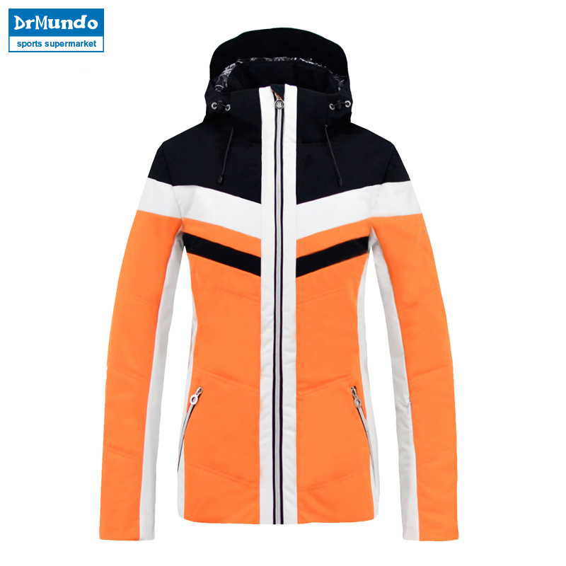 2018 New Brand Winter Warm Ski Jacket Snow Coat For Women 2 Colors Size S - XXL Waterproof Winter Snowboard Jacket Women 2016 new aarrivals fashional women hoody long style warm winter coat women plus size s xxl free shipping