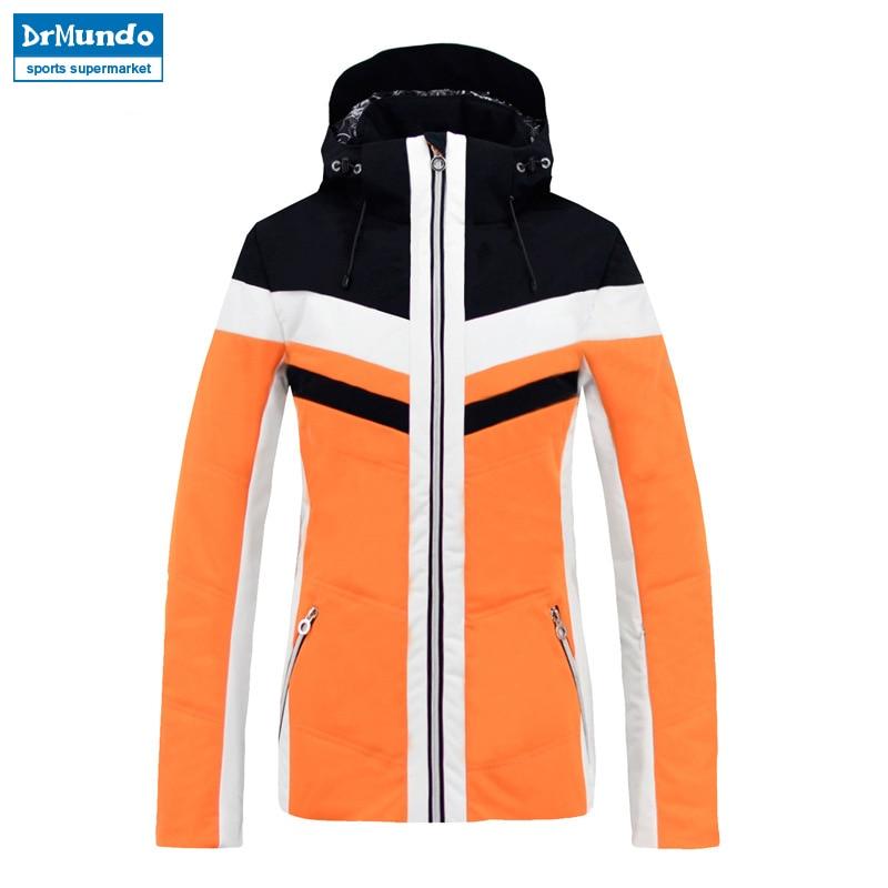 2018 nouvelle marque hiver chaud veste de Ski manteau de neige pour les femmes 2 couleurs taille s-xxl imperméable hiver Snowboard veste femmes