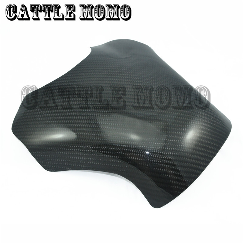 Motorcycle Carbon Fiber 3D Tank Pad Protector For YZF1000 R1 2004 2005 2006 Tank Cover Pad Protector black color motorcycle accessories carbon fiber fuel gas tank protector pad shield rear carbon fiber for kawasaki z1000 03 06