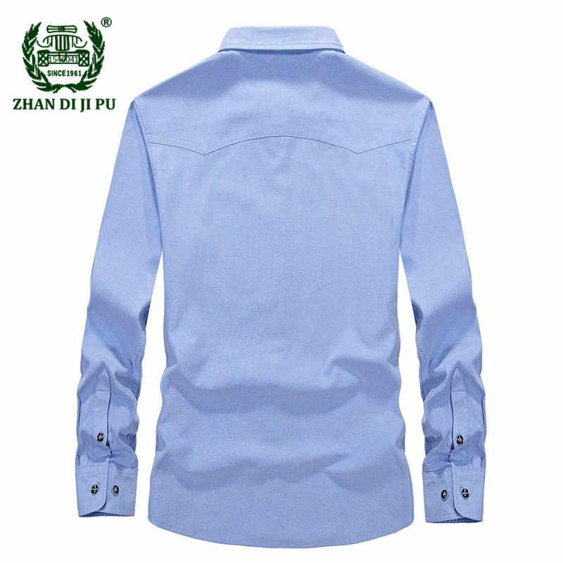 e635e28a5894814 ... 2018 Европа Мужская Осень Повседневная брендовая синяя рубашка деловой  человек весна хлопок серый рубашки с длинным ...