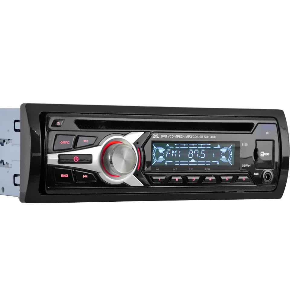Car MP3 Player Single Din Car Stereo DVD/CD/MP3/USB/SD/FM Car Stereo Monitor Wireless Remote FM Radio Car Audio player
