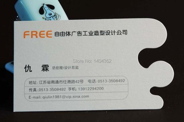 Us 51 0 15 Off Besuchen Kartendruck Gestanzte Visitenkarte Personalisierte Kundenspezifische Visitenkarten Vollfarbig Und Gute Qualität In Besuchen
