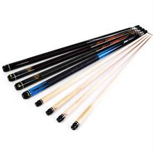 PREOAIDR 3142 Professional 1/2 Jointed Billiard Cue Pool Stick 11.5mm Tip 145cm Black 8 Game 4 Colors Made in China