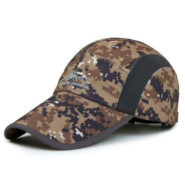2016 New Summer Outdoor Sport Caps Hats For Men Women Adjustable Snapback Cap Baseball Cap camouflage Colors Gorras