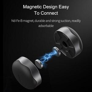 Image 3 - Hagibis dizüstü bilgisayar standı manyetik taşınabilir MacBook soğutma pedi dizüstü bilgisayar Cool Ball ısı dağılımı tırtıklı ped soğutucu standı