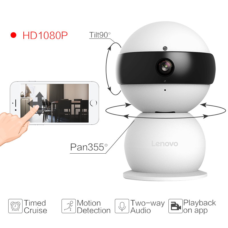 Lenovo Snowman XR WiFi Smarts IP Camera cctv security