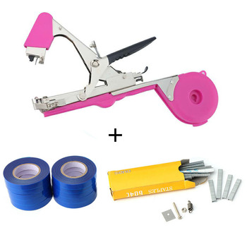 ALLSOME Plant Branch Tapetool Tapener Tapes Garden Tools Plant Tying Packing Vegetable Stem Strapping with 10 Roll Tapes HT2606 - Spain, Set 5