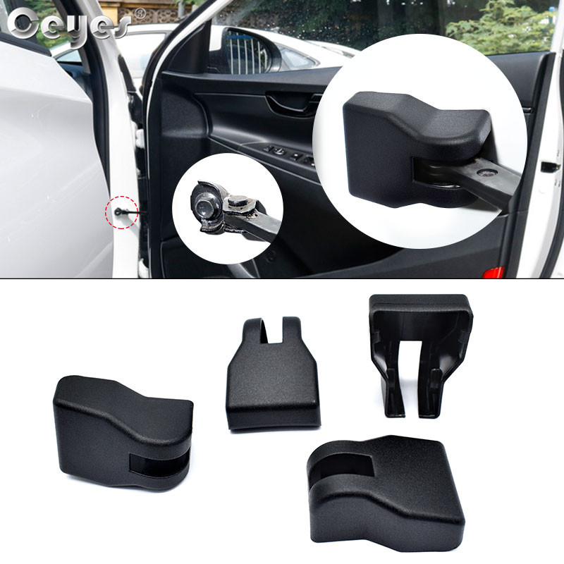 Ceyes Car Styling Stickers For Hyundai Grand I10 Elantra Tucson Sonata IX35 Solaris Creta Verna Door Stopper Limiting Arm Covers