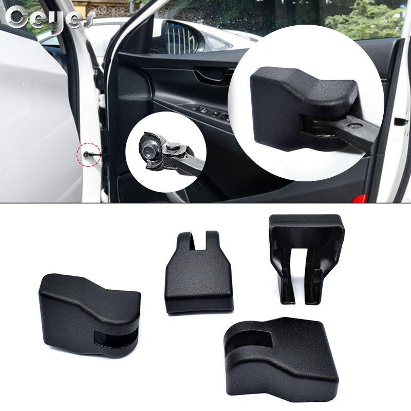 Küpler Araba Styling Etiketler Hyundai Grand I10 Elantra Tucson Sonata IX35 Solaris Creta Verna Kapı Durdurucu Sınırlayıcı Kol Kapakları