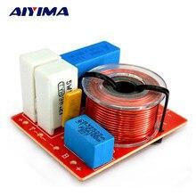 Aiyima 2 Stuks 80W 2 Weg Audio Luidspreker Frequentie Divider Treble Bass Crossover Filter Voor Boekenplank Audio Luidsprekers Diy