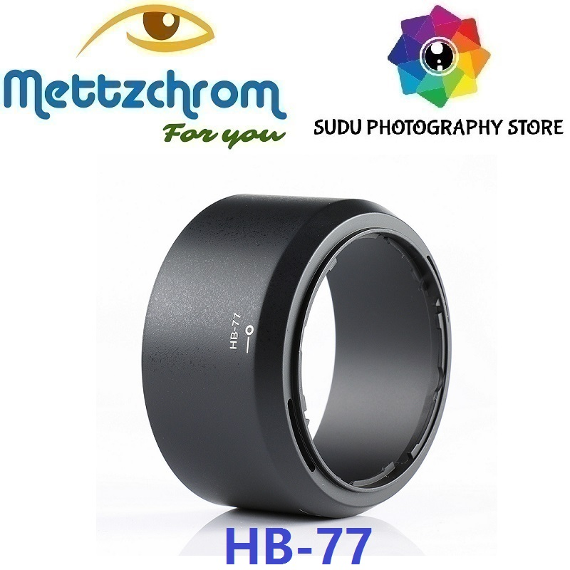 HB-<font><b>77</b></font> Camera <font><b>Lens</b></font> Hood For Nikon AF-P DX NIKKOR f/4.5-6.3G 70-300mm ED VR HB77 HB <font><b>77</b></font> image