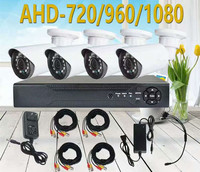 4CH CCTV System 1080N HDMI DVR 4PCS 1080P Home AHD Security System Surveillance Kits 720/960/1080P Optional