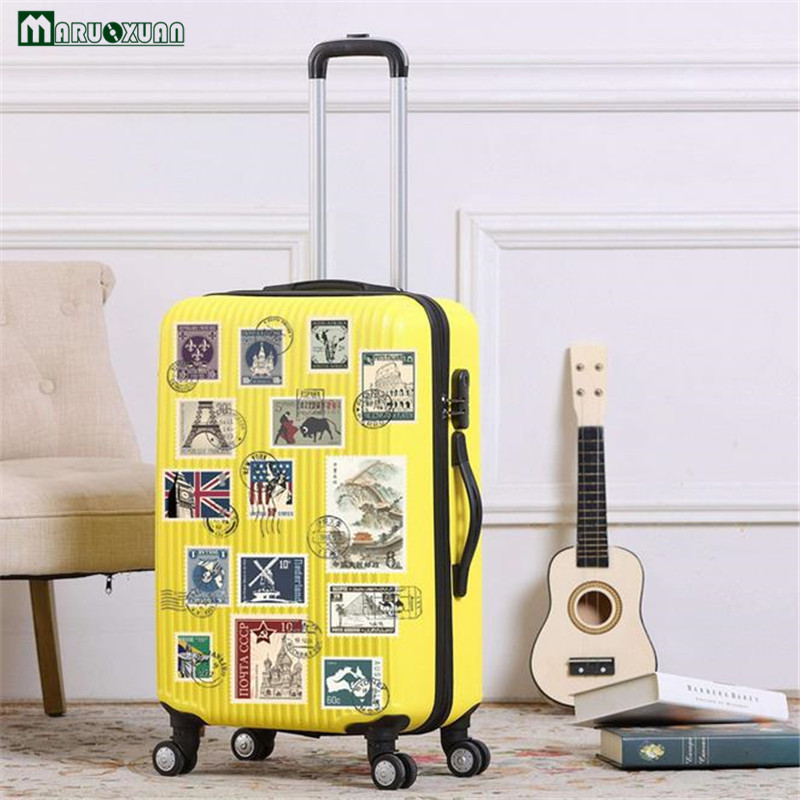 Maruoxuan Colorful Stamp Stickers Suitcase Fridge Wardrobe Cabinets ...