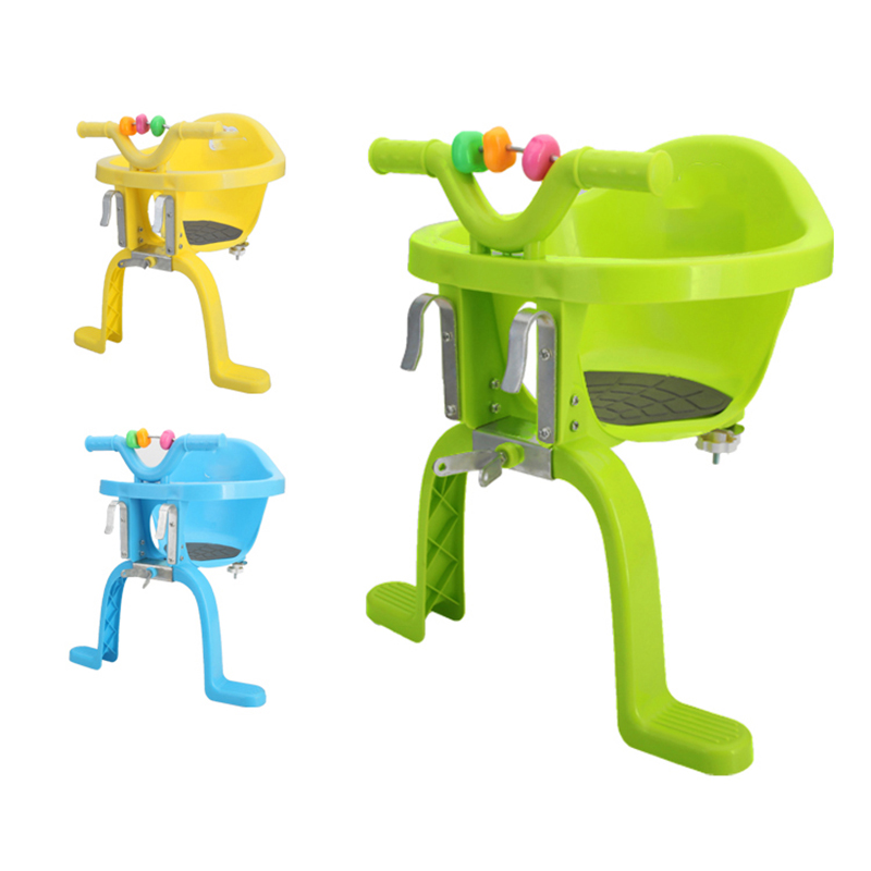 Road foldable bicycle childrens front safety seats High quality material kids baby bicycle chair ...