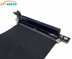 Image 5 - PCI Express x16 כדי PCIE x16 זכר לנקבה גרפיקה כרטיס Riser PCI E PCIE3.0 PCI E 16x סרט הארכת כבל עבור כרייה