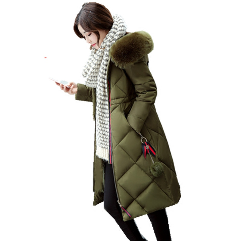 Womens Winter Jackets Coats 2017 Thick Warm Hooded Down Cotton Padded Nagymaros Girls Down Cotton Parkas Female Manteau Femme womens winter jackets and coats 2016 thick warm hooded down cotton padded parkas for women winter jacket female manteau femme