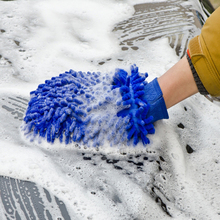1pc microfiber car wash glove cleaning car care detailling