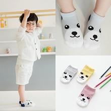 3 Pair/lot Summer Baby Socks Cartoon Animal Cotton Kids Girls Boys Children Socks For 1-10 Years