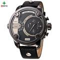 NORTH Male Sport Watch Pantalla Analógica Fecha 30 M Impermeable reloj de Cuarzo de Acero Inoxidable 2016 de Diseño de Moda de Los Hombres de Negocios Reloj de Pulsera