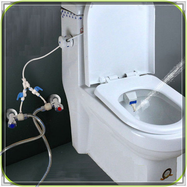 Without Electricity Cold And Hot Water Bidet Set Potty Toilet Micro Soft Sprayer Torneiras Banho E Cozinha Valve Bat