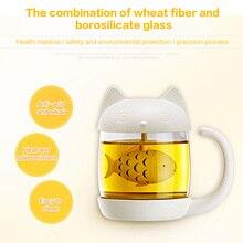 Strainer Cat Tea Infuser Cup