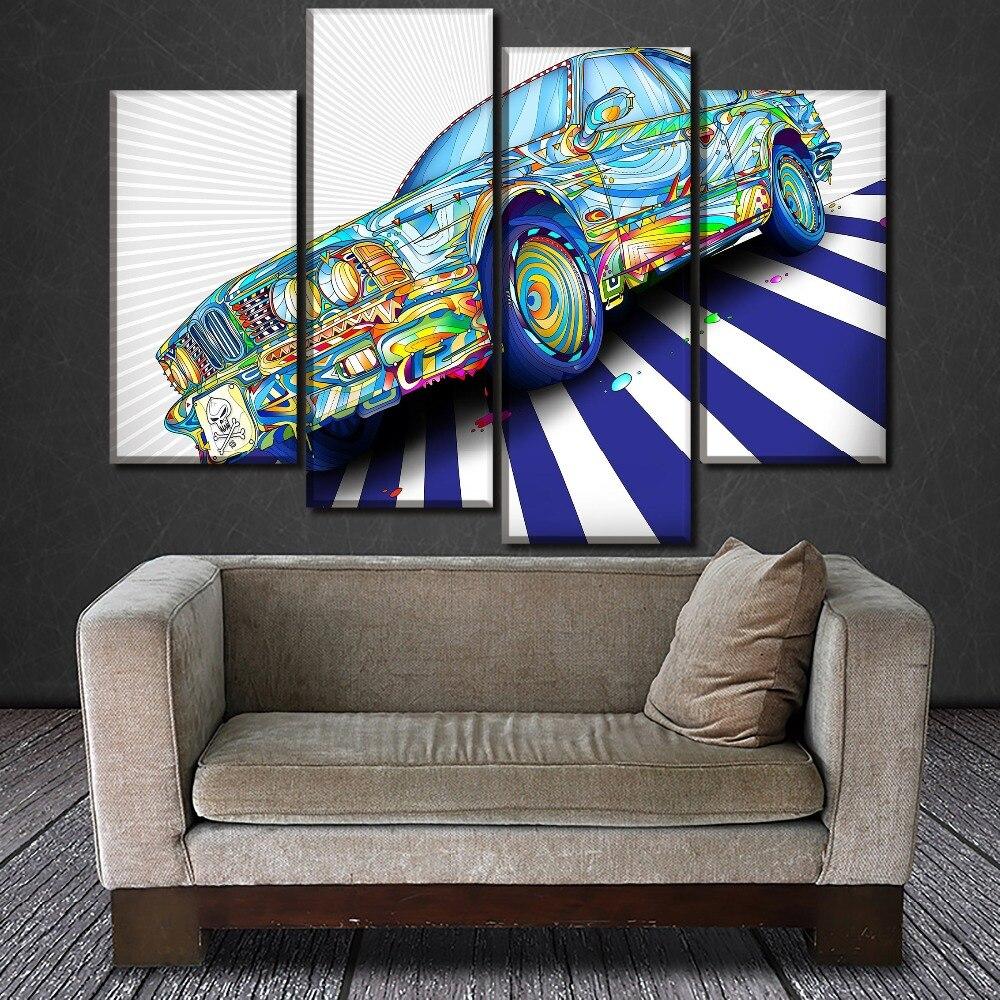 Moderne slike na platnu za stenske slike HD odtisi 4 kos / 1 kos - Dekor za dom