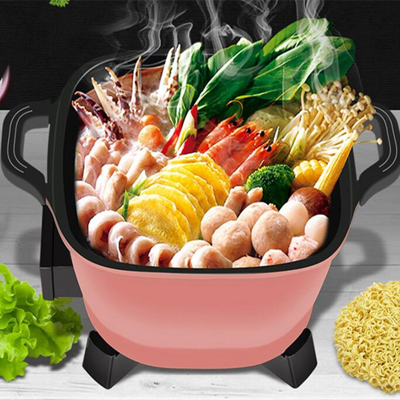 220V 2.5L Electric Multi Cooker Mini Multifunction Non-stick Cooking Pot Frying Plate With Steamer For School Hot Pot EU/AU/UK220V 2.5L Electric Multi Cooker Mini Multifunction Non-stick Cooking Pot Frying Plate With Steamer For School Hot Pot EU/AU/UK