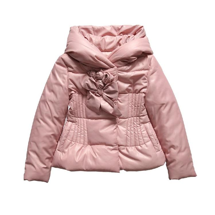 (2 8Y) winter jacket kids coat Monnalisa Fall Winter