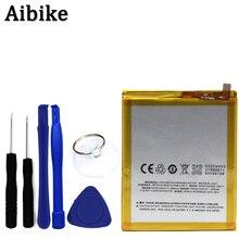 Aibike New original mobile téléphone batterie BA611 3000 mAh Pour Meizu 5 m5 Batterie De Remplacement Cadeau fixation outil