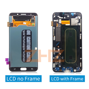"""Image 3 - ЖК дисплей для Samsung Galaxy S6 Edge Plus G928 G928F, сенсорный экран в сборе, сменные детали для 5,7 """"SAMSUNG S6 Edge Plus, ЖК дисплей"""