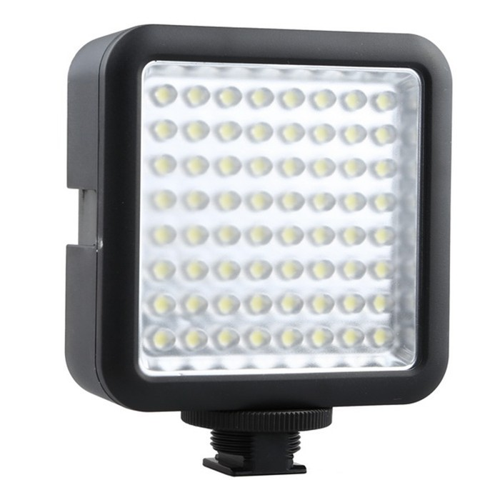 Godox LED 64 photo camera lights Video Lamp Light For Nikon Canon Sony Digital Camera Camcorder DV